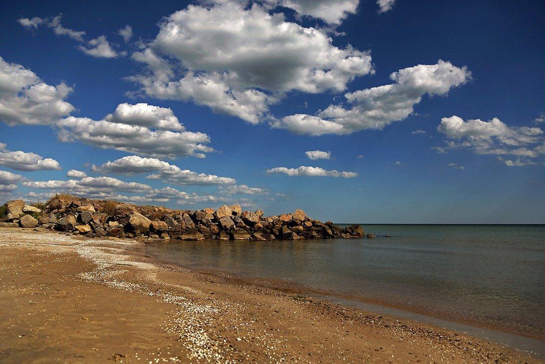 Азовское море + грязевой вулкан Тиздар!