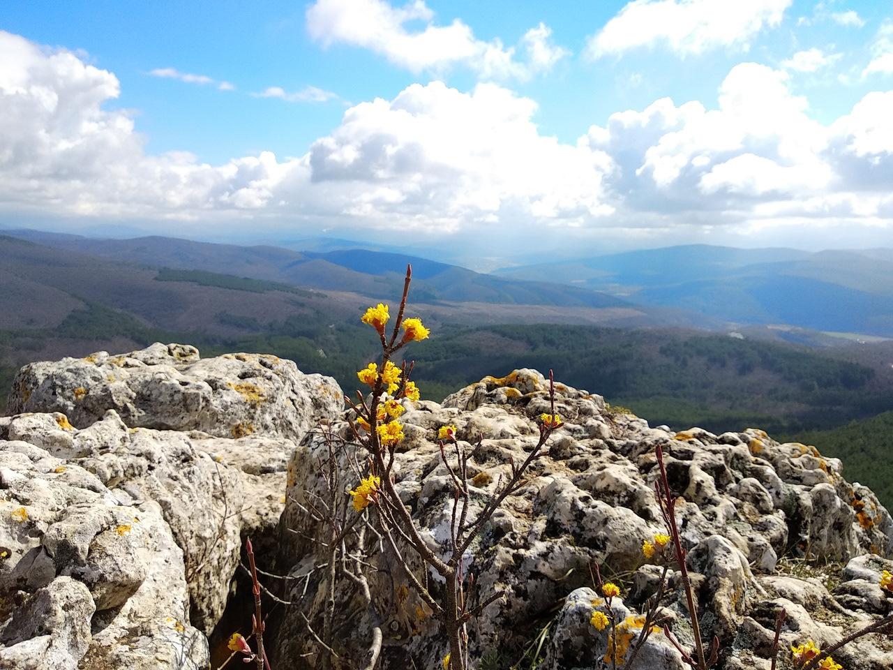 Свежий ветер весны: поход по Крыму в районе Бахчисарая!
