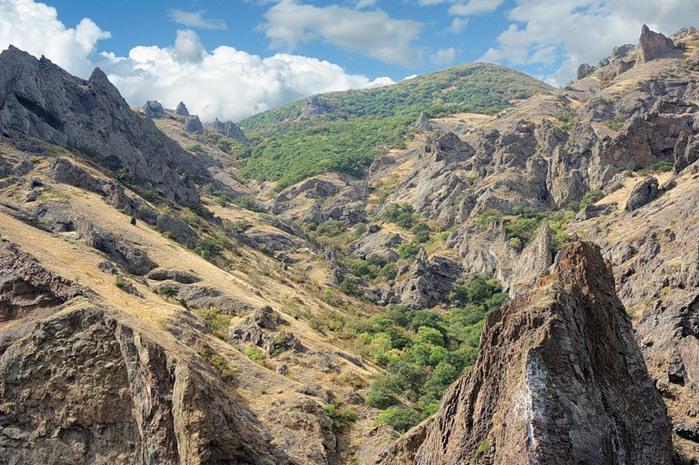Походный тур к потухшему вулкану Кара-Даг, на мыс Хамелеон!
