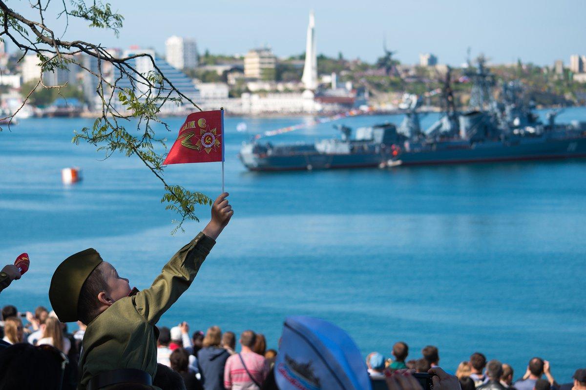 В Севастополь 9 мая однодневный